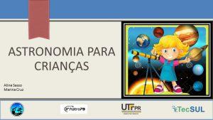 ASTRONOMIA PARA CRIANÇAS - 2º AstroPB