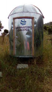 Observatório GW 2702 - Local de observações: Propriedade Rural - Sitio do Mel, Pato Branco - PR